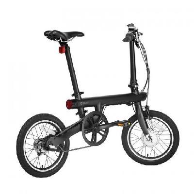 米家骑记电助力折叠自行车